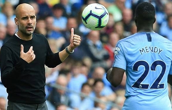 man citys mendy missed fulham match due to knee problem