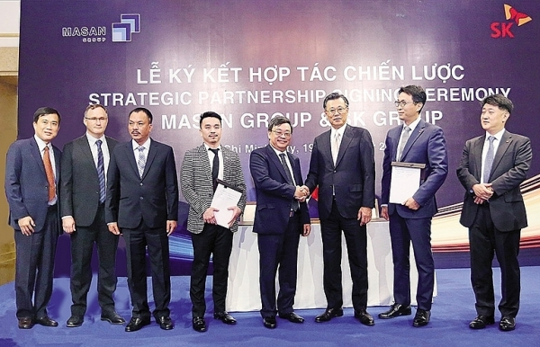 similar paths led sk and masan into new strategic partnership