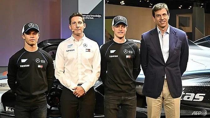 mercedes embark on new mission in formula e