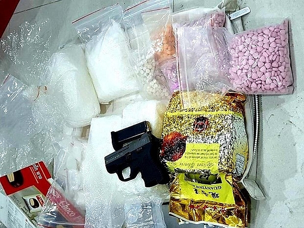 hcm city police bust ring trafficking drugs from cambodia