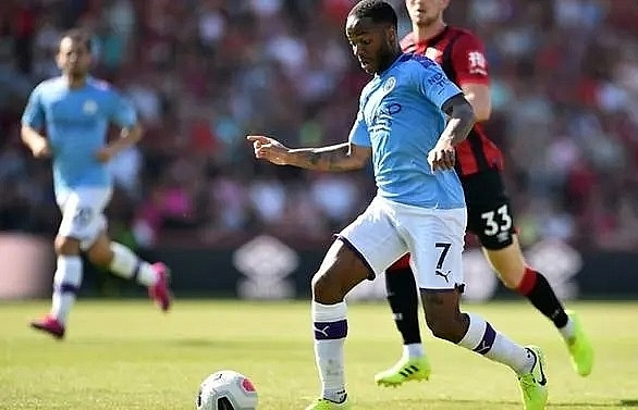 Sterling not on same level as Messi, Ronaldo, says Guardiola