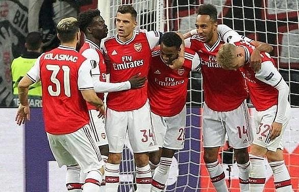 Man Utd, Arsenal, Rangers all claim Europa League wins