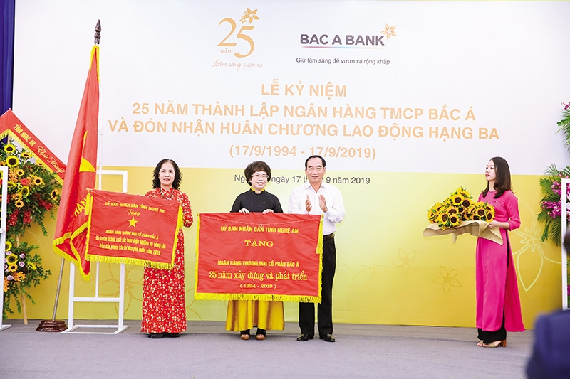 awards bestowed on bac a bank