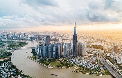 Realty, banking drives VN-Index up