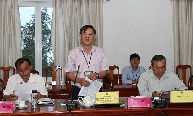 hau giang asked to work harder in luring ngos assistance