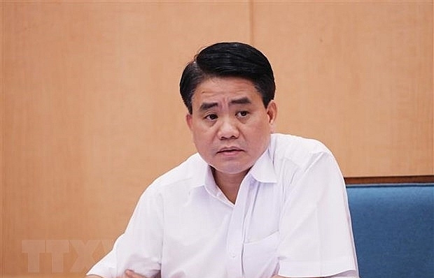 Nguyen Duc Chung suspended from Hanoi People's Council deputy status