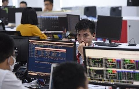 Shares make gains on large-cap stocks