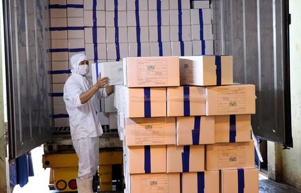 Vietnam exports first batch of shrimp to EU under EVFTA