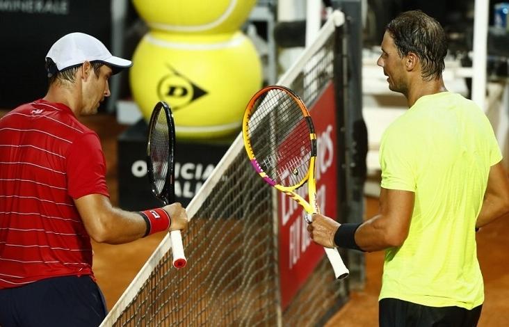 Nadal sweeps into Rome quarter-finals