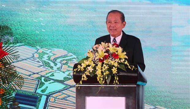 construction of 143 million usd industrial park begins in binh dinh