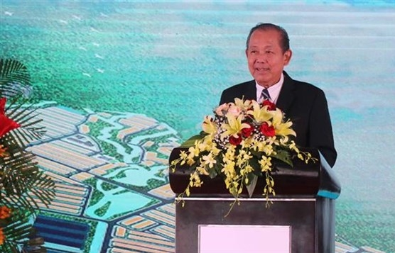 construction of 143 million usd industrial park begins in binh dinh