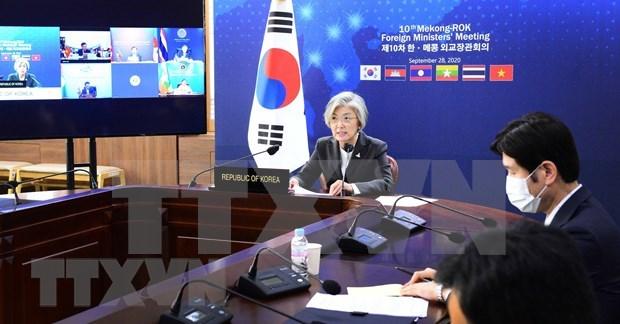 mekong sub region countries rok enhance ties amid covid 19