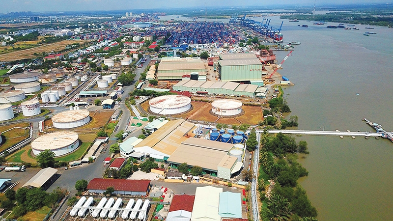 Industrial property has, on the whole, enjoyed decent growth despite this year's wider issues, Photo Le Toan