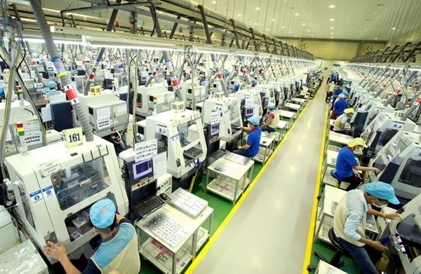 Vietnam aims to aim to create a breakthrough change in the growth model towards higher productivity, quality and competitiveness. (Illustrative image. Photo: VNA)