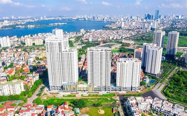 Many banks have reduced outstanding loans for real estate business in the first 6 months. (Photo cafef.vn)