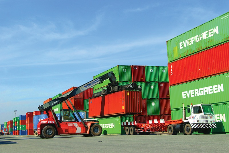 The logistics sector has been hammered this year with spiralling costs and container shortages, Photo: Le Toan