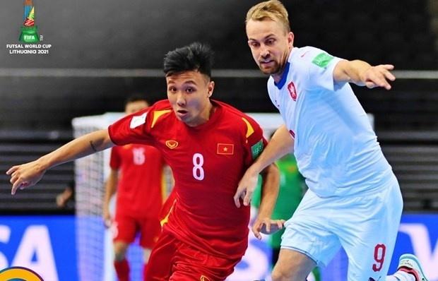 Vietnam advance to next round of 2021 Futsal World Cup