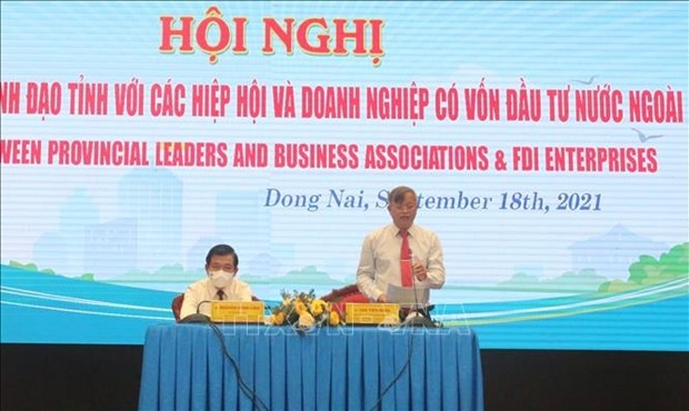 Dong Nai authorities hold dialogue with FDI firms