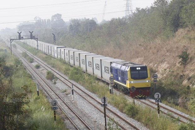 Thailand promotes rail connection to boost foreign trade
