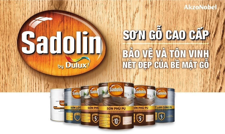 Sadolin: an advanced solution for Vietnam's woodcare market