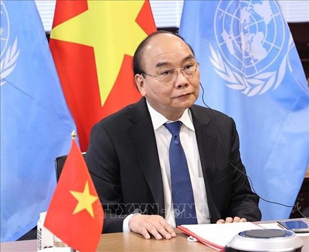 President applauds establishment of global health security financial intermediary fund