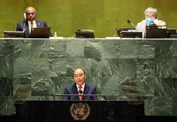 Vietnam cooperates with nations to prevail over pandemic, build peaceful, prosperous world: President