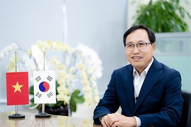 Choi Joo Ho, President of Samsung Vietnam (Photo courtesy of the company)
