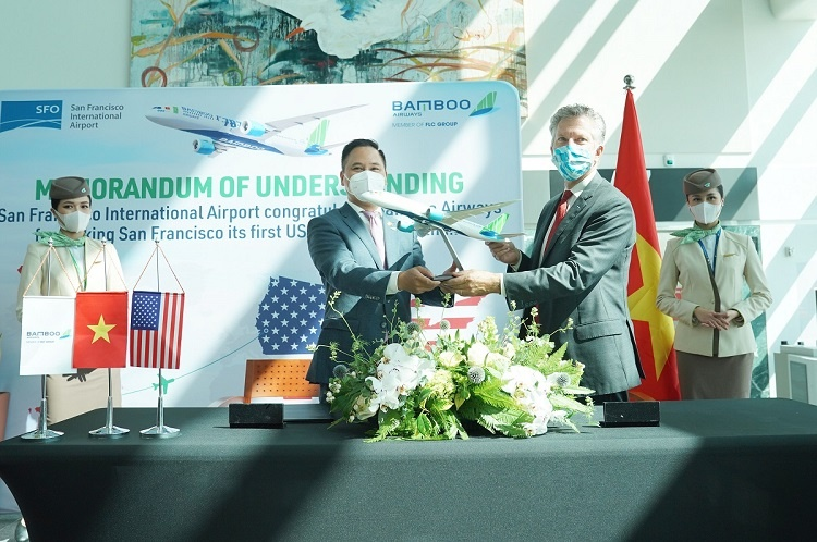 A regular nonstop route between Vietnam and the US operated by a Vietnamese airline will be of great brand value.