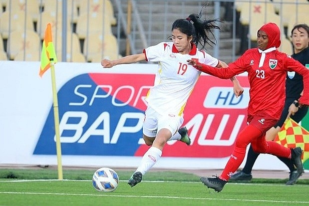 Vietnam thrash Maldives 16-0 at AFC Women's Asian Cup qualifiers