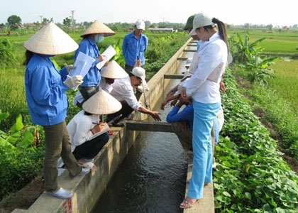 Japan helps farmers to better manage irrigation