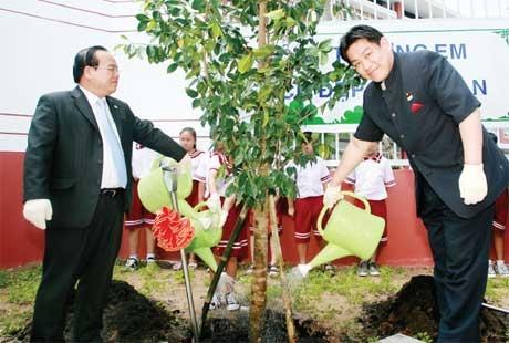 "A ""garden city"" takes root in Binh Duong"