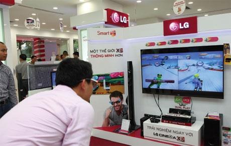 LG's solid profit in third quarter