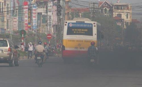 Air quality remains a headache