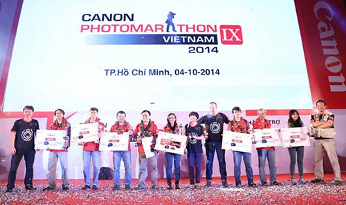 Canon PhotoMarathon 2014 in Ho Chi Minh City set record for largest number of participants in Asia