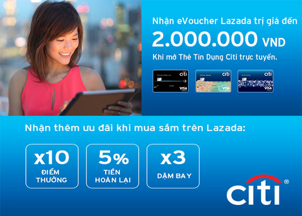 Citi and Lazada announce regional partnership