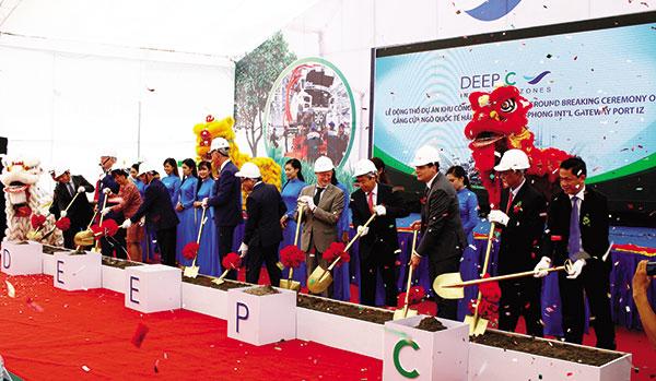 Deep C IZs chain up to line Haiphong