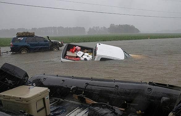 Florida braces for lethal floods as hurricane nears