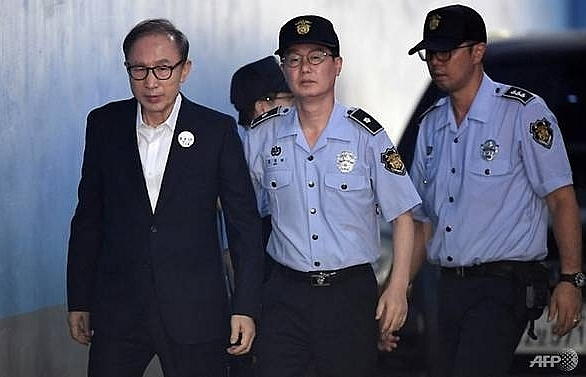 south korea ex president lee appeals 15 year jail term