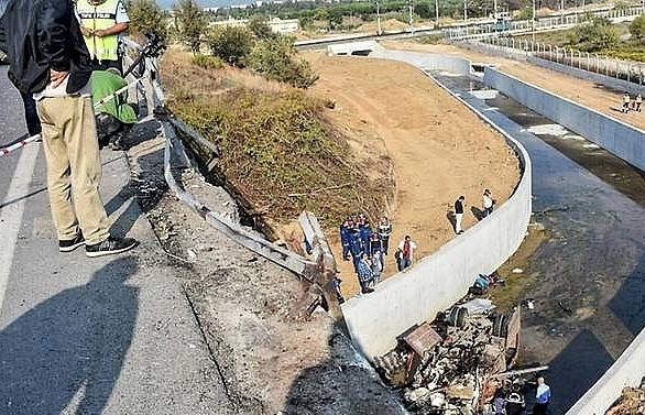 Migrant truck crash kills 22 in Turkey