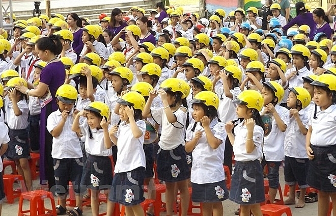 Hanoi: RoK-backed project helps ensure traffic safety for students