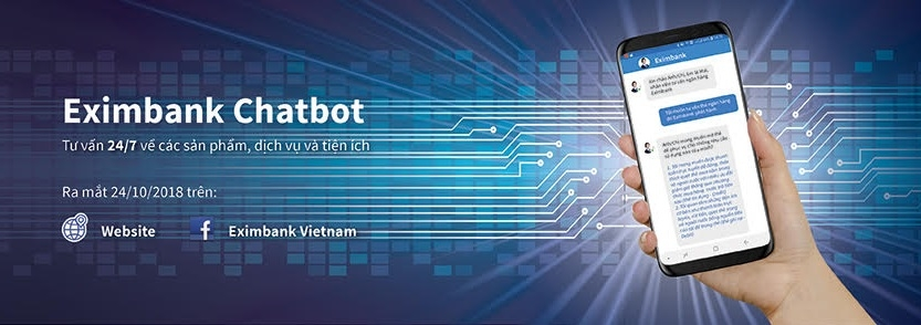 eximbank launches chatbot application for 247 customer care