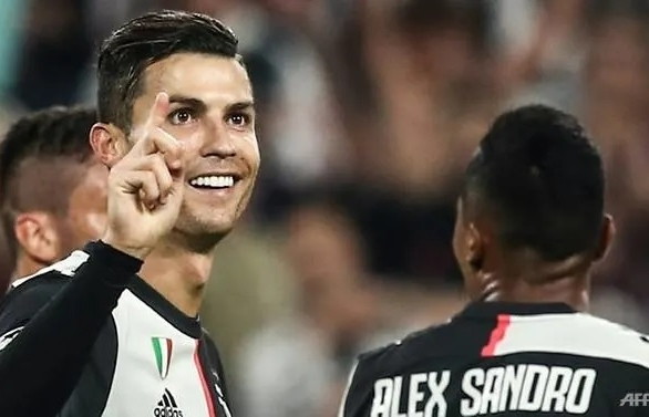 ronaldo scores as juventus brush aside leverkusen