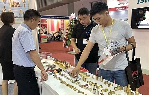 Plastic, rubber industry exhibition begins in HCM City