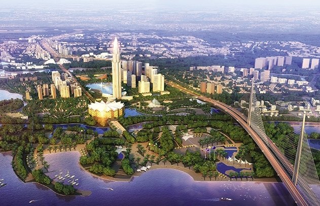 Billion-dollar smart city will express the spirit and vision of a new Hanoi