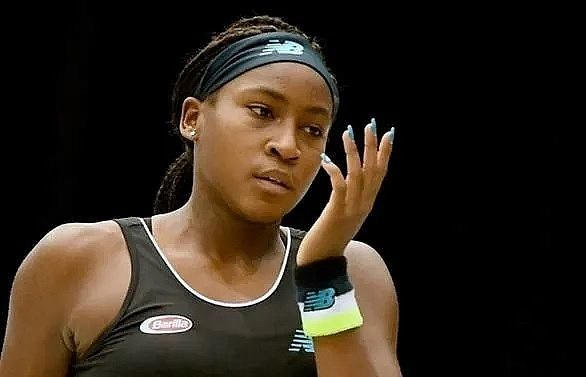 Gauff dumped out at Luxembourg after maiden WTA title win