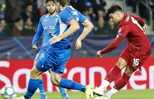 Oxlade-Chamberlain on target twice as Liverpool ease past Genk