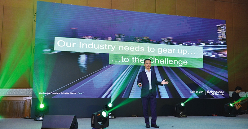 schneider electric holds the power