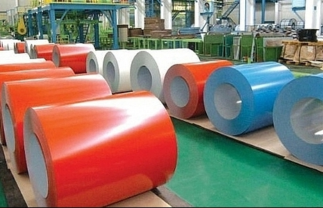 moit imposes anti dumping duties on colour coated steel products of rok and china
