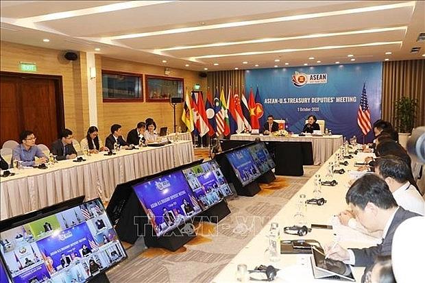 asean finance and central bank deputies meeting held online