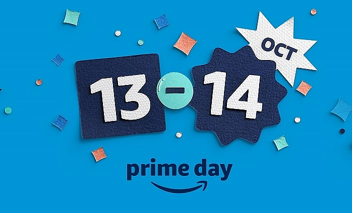 mark your calendars prime day is here in time for the holidays on october 13 and 14